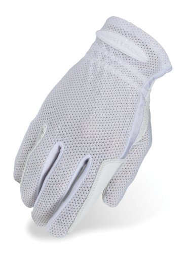 Heritage Pro-Flow Summer Show Gloves, Size 7, White