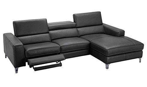 Amazon.com: JNM Furniture Ariana Leather Right hand Facing ...