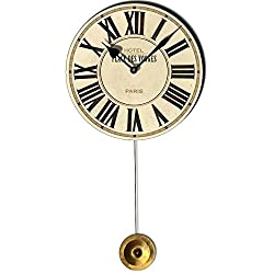 Place Des Voges Cream Pendulum Clock 6