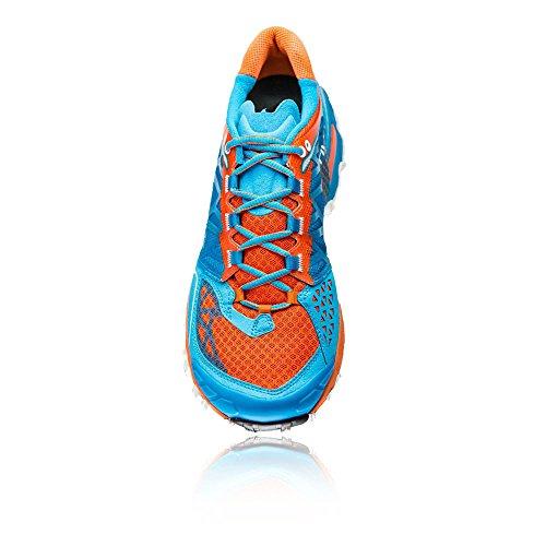 La Sportiva Bushido - Deportivos de running para hombre Arancio azzurro