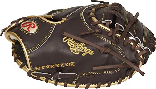 Rawlings Gold Glove Series Catchers Mitt, 34 inch, 1-Piece Closed Web