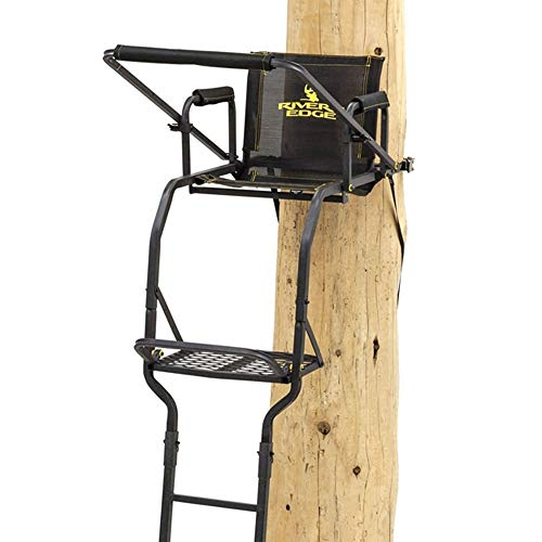 Rivers Edge 1 Man Seat Lock On Deer Hunting Tree Ladder Stand