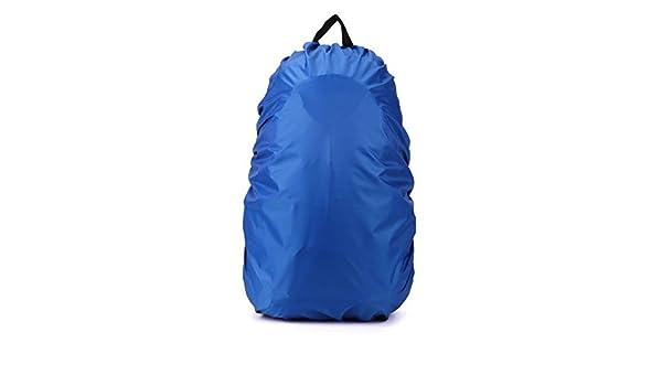 Ndier Cubierta de Lluvia,Funda Impermeable para Mochilas Escolares Bolsas para Equipaje Bolsas para Lluvia/Polvo Azul 35-40 L: Amazon.es: Deportes y aire ...