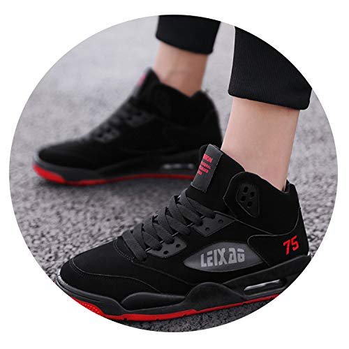 Little Happiness Men's Casual Shoes 2019 Fashion Sneakers Men Shoes New Sneakers Shoes Men Shoes Adult Shoes,K36-Red,6.5