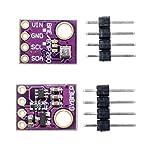 Diymore 2pcs BME280 5V Temperature Humidity Sensor Atmospheric Barometric Pressure Sensor with IIC I2C Breakout for Arduino