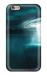 For iphone5C Tpu Phone Case Cover(alien Abduction)