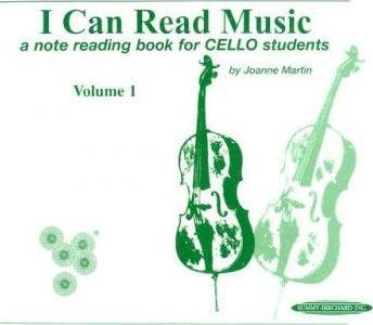 [(I Can Read Music, Vol 1: A Note Reading Book for Cello Students )] [Author: Dr Joanne Martin] [Jul-1999]