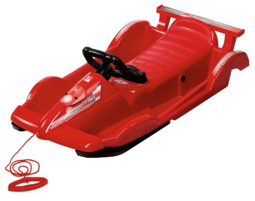 AlpenGaudi Kunststoffrodel AlpenRace Rot 100 cm