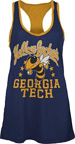NCAA Georgia Tech Nelly Tank, Medium, Navy