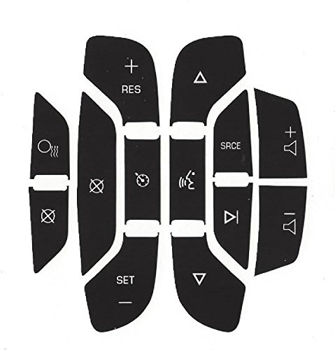 2007-2008-2009-2010-2011-2012-2013 GM Sterring Control Replacement Decal