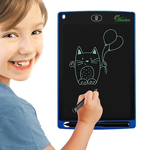 LCD Writing Tablet,8.5Inch Screen Electronic Writing Pad for Kids & Adult Portable Digital Handwriting Paper Doodle Board for School, Fridge or Office(Blue)