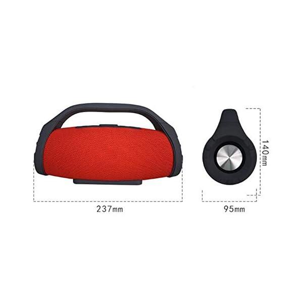 Haut-Parleur Portable Bluetooth étanche Voyage en Plein airHaut-Parleur Bluetooth Camouflage Portable 237mmx140mm 2