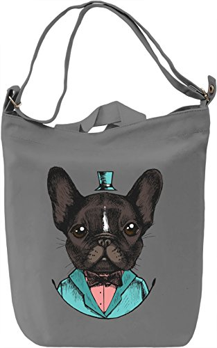 Classy dog Borsa Giornaliera Canvas Canvas Day Bag| 100% Premium Cotton Canvas| DTG Printing|