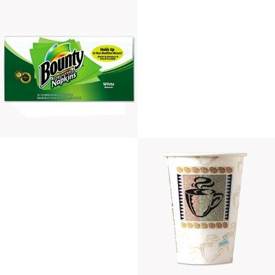 KITDXE5342CDPKPAG34884 - Value Kit - Procter amp; Gamble Professional Quilted Napkins (PAG34884) and Dixie Hot Cups (DXE5342CDPK)