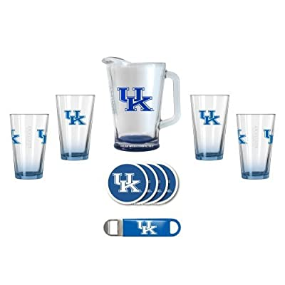 NCAA Kentucky - Deluxe 4 Pint & Pitcher Set | UK Wildcats Bar Set
