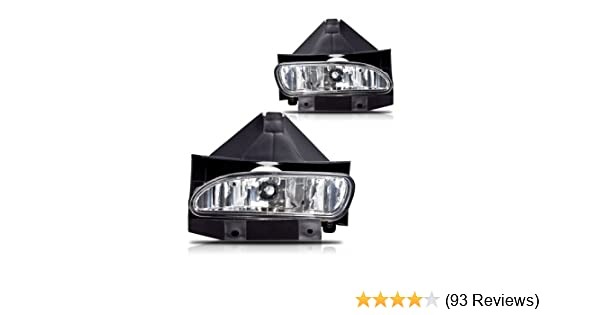 Winjet WJ30-0086-09 OEM Series for Clear Driving Fog Lights 1999-2004 Ford Mustang GT