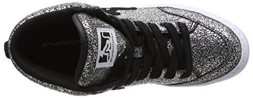DrunknMunky Boston Galaxia - Zapatillas de Tenis Mujer Argento (Black)