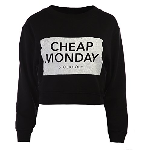 cheap-monday-womens-cracked-cm-expand-sweatshirt-0140170-punk-black-sz-xs