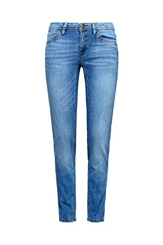 Washed edc Slim Blue by Jeans Esprit Medium Donna 00PaFn