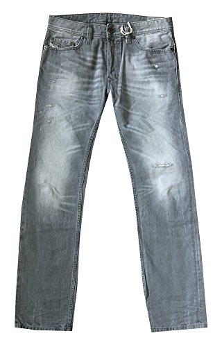 Diesel Men SAFADO Regular Slim-Straight Jeans (30X30, Wash 0831F) by Diesel