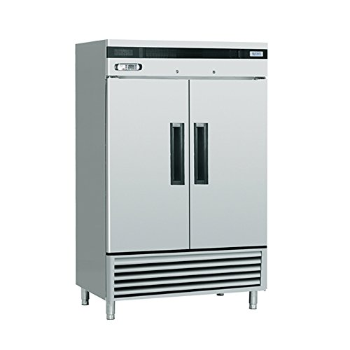 EQ Kitchen Line SF-49L2 Commercial Standing Freezer, 2 Do...