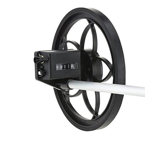 Neiko 01590A Rolling Measure Wheel | Extendable Handle | 5 Digit Display | 11 1/2' Diameter