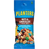 Planters Nut and Chocolate Trail Mix, 2 oz. Single Serve Bags (Pack of 72)