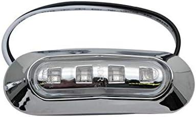 MASO Caravana Luces LED Laterales de 8 x 4 ledes Rojo autob/ús indicador de Parada para Coche cami/ón Luces de 12 V 24 V