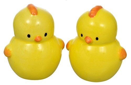 Easter Yellow Baby Chicks Salt and Pepper Shaker Sets - 2 Pc