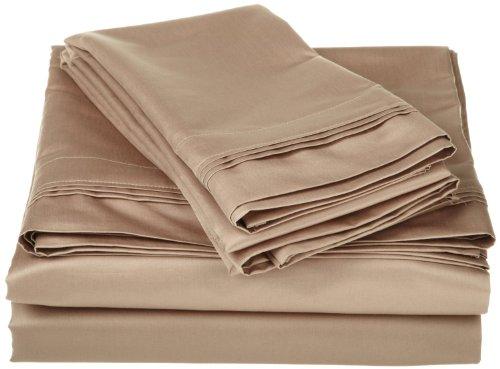 睡在浮云间!SGI 埃及棉床品3件套 低至3折!