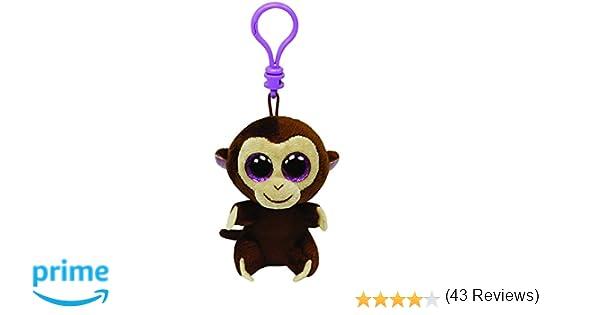 Ty 36501 Beanie Boos - Llavero de mono de peluche: Amazon.es: Juguetes y juegos