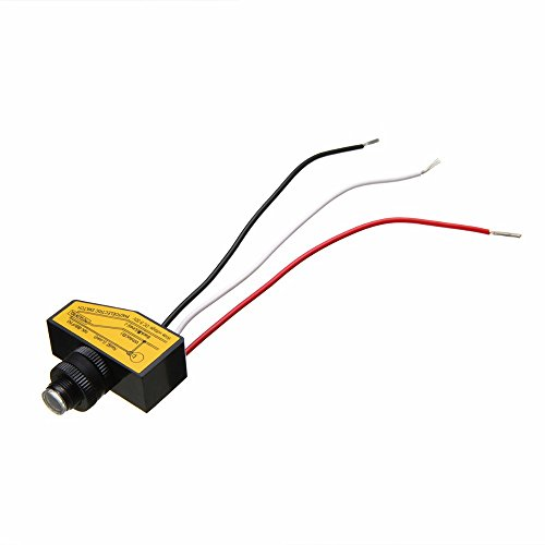 (MEIZXIU 2017 Automatic Remote Photocell Dusk to Till Dawn Light Sensor Switching Auto On Off Photocell Street Light Sensor Switch)
