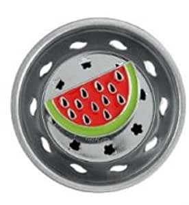 WATERMELON themed fruit decor Kitchen Sink Strainer drain plug stopper