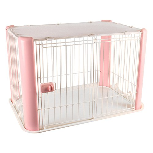 IRIS-Wire-Dog-Crate-with-Mesh-Roof