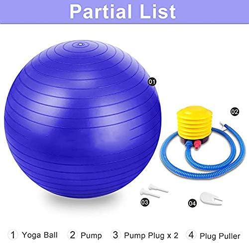 DZLXY Silla con balón de Ejercicio y Yoga para Fitness ...