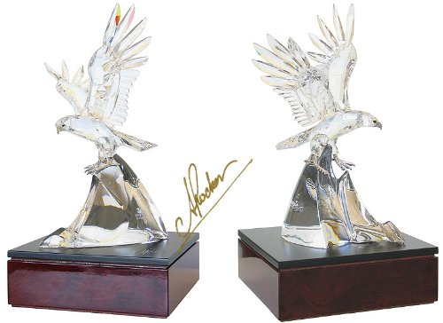 Swarovski 1995 Numbered Limited Edition Figurine Eagle New in Box + Coa