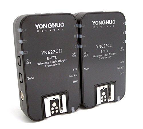 141 opinioni per Yongnuo YN-622C II YONGNUO REMOTE E-TTL PER CANON EOS FLASH +WINGONEER®