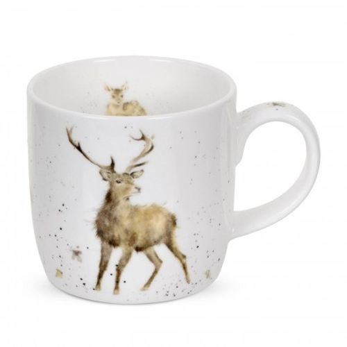 Royal Worcester Wrendale Designs Fine Bone China Single Mug, Wild at Heart