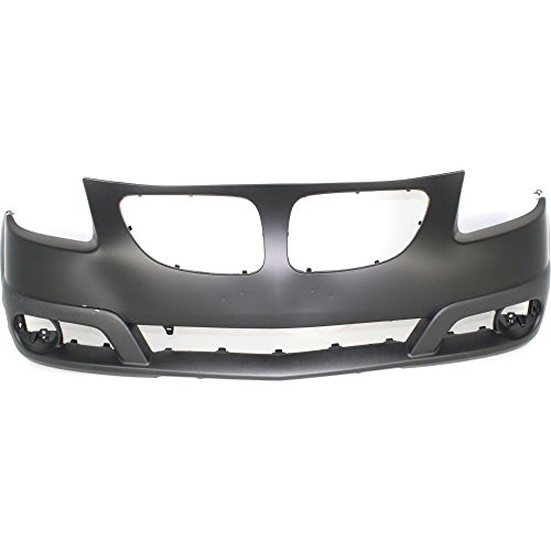 New Evan-Fischer EVA17872031121 Front BUMPER COVER Primed for 2005-2008 Pontiac (Pontiac Vibe Bumper Cover)