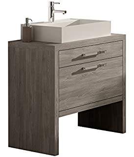 Montreal 24 Inch Bathroom Vanity Sink Is Not Included Cabinet Set
