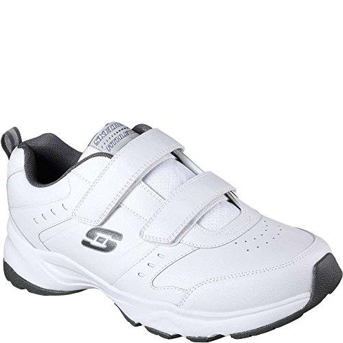 Casspi Skechers Haniger Charcoal Men's White Sneaker Training RwvrEqSw
