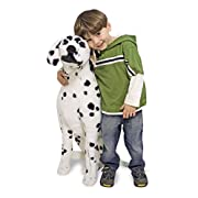 Melissa & Doug Giant Dalmatian - Lifelike Stuffed Animal Dog (over 2 feet tall)