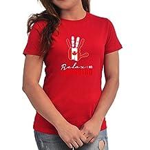 Canada relax I am Canadian Women T-Shirt