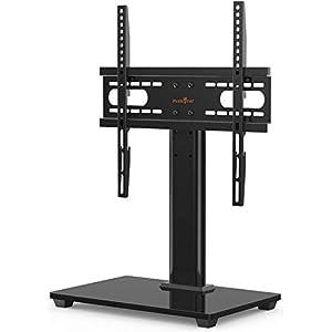 Support TV sur Pied TV Universel – pour de 26-55 Pouces Télévision,Réglable en Hauteur Max Charge 40kg VESA 400×400 mm…