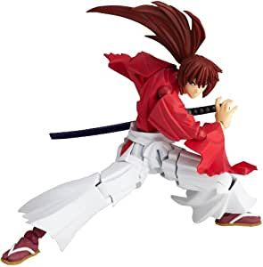 Rurouni Kenshin Revoltech Super Poseable Action Figure #109 Himura Kenshin [Toy] (japan import)