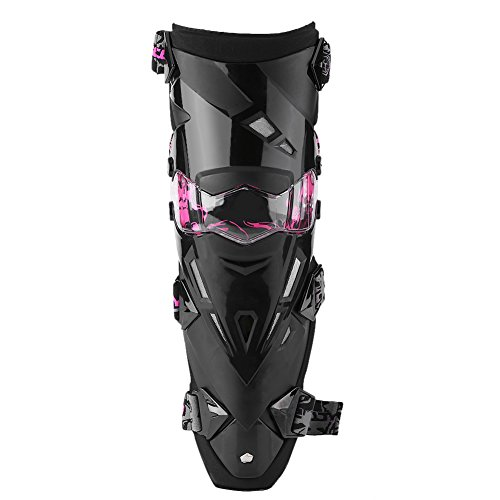 Anauto 2pcs Motorcycle Motocross Cycling Knee Pads Breathable Kneelet Protective Gear - Pads Construction Pink Knee
