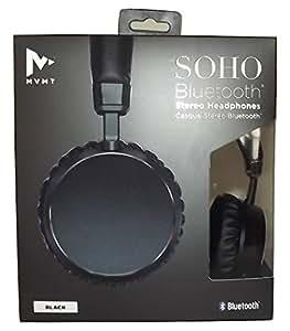 amazoncom mvmt soho bluetooth wireless rechargeable stereo headphones black home audio theater