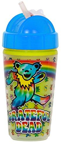 Daphyl's Grateful Dead Dancing Bear Straw Cup
