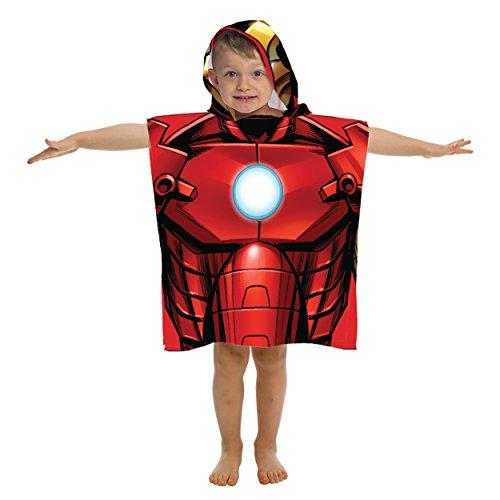 Marvel Avengers Ironman Hooded Bath/Beach Poncho Towel