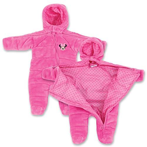 Infant Newborn Minnie Mouse EZ Off Jacket - Pink 12 Months